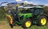 hydraulická ruka Farma v troj bodu traktoru