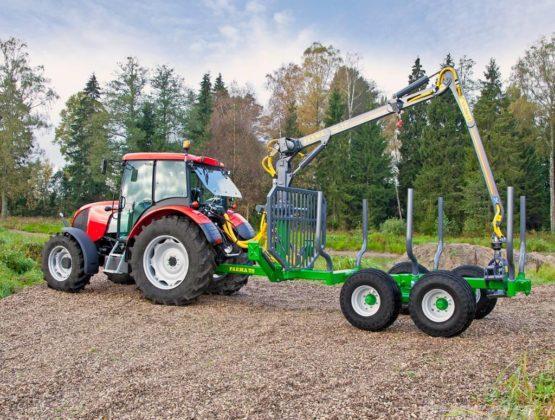 Vyvážecí přívěs Farma