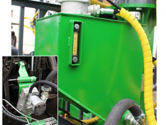 Vlastní hydraulický okruh