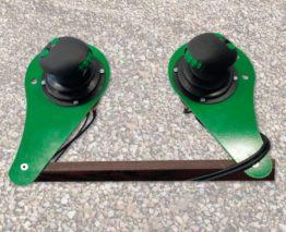 Proporcionální elektrohydraulické ovládání joysticky
