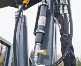 Tlumič pohybů hydraulické ruky