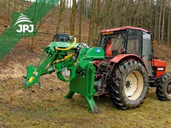 Traktorový procesor Farma N + traktor Zetor 9540