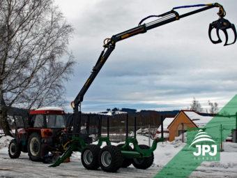 Vyvážečka Farma CT 8,5-12 G2 + traktor Zetor