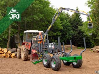 Vyvážecí vlek Farma CT 4,2-6 G2 + traktor Zetor 5245